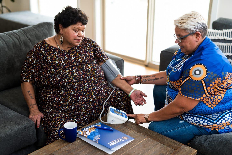 Care Coordinator with Aboriginal client