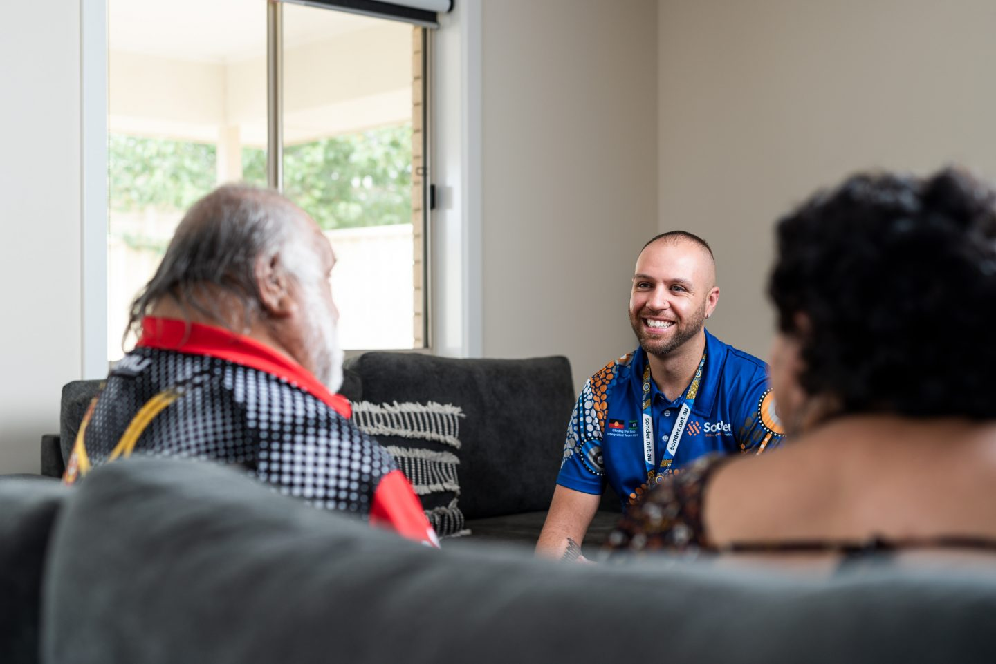 Outreach Worker with Aboriginal clients