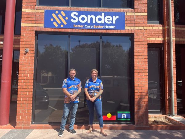 Shaun and Holly from Sonder's 715 General Practice Support Program